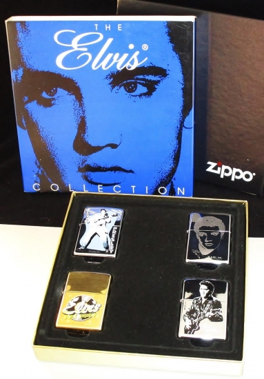 ZIPPO The ELVIS COLLECTION 4個セット 2000年製